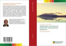 Capa do livro de Modelagem da estrutura trófica em ecossistemas aquáticos