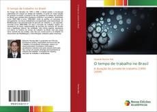 Capa do livro de O tempo de trabalho no Brasil