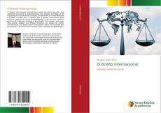 Bookcover of O direito internacional