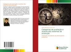 Categorias de avaliação e análise dos sistemas de produção kitap kapağı