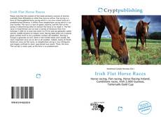 Capa do livro de Irish Flat Horse Races