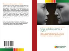 Capa do livro de Sobre a violência contra a mulher