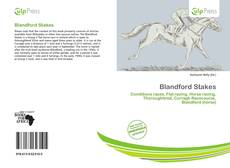 Обложка Blandford Stakes