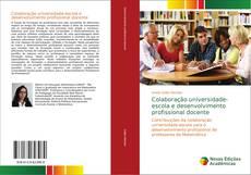 Capa do livro de Colaboração universidade-escola e desenvolvimento profissional docente