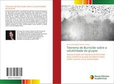 Portada del libro de Teorema de Burnside sobre a solubilidade de grupos