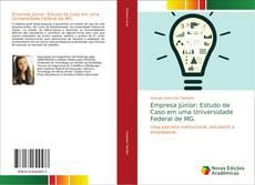 Capa do livro de Empresa Júnior: Estudo de Caso em uma Universidade Federal de MG.