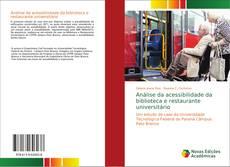 Capa do livro de Análise da acessibilidade da biblioteca e restaurante universitário