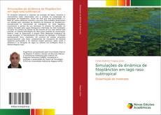 Capa do livro de Simulações da dinâmica de fitoplâncton em lago raso subtropical