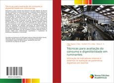 Portada del libro de Técnicas para avaliação do consumo e digestibilidade em ruminantes