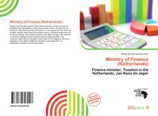 Couverture de Ministry of Finance (Netherlands)
