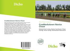 Bookcover of Craddockstown Novice Chase