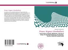 Buchcover von Franz Aigner (footballer)