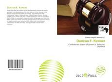 Duncan F. Kenner的封面