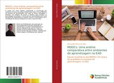 Portada del libro de MOOCs: Uma análise comparativa entre ambientes de aprendizagem no EAD