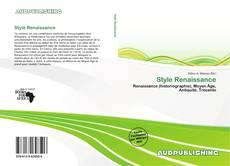 Capa do livro de Style Renaissance