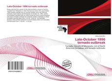 Bookcover of Late-October 1996 tornado outbreak