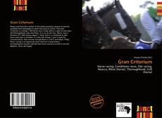Bookcover of Gran Criterium