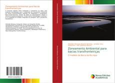 Capa do livro de Zoneamento Ambiental para bacias transfronteiriças