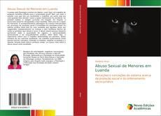 Capa do livro de Abuso Sexual de Menores em Luanda