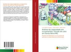 Capa do livro de Análise da capacidade em cruzamentos: Estudo de caso em Ponte Nova-MG