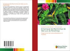 Portada del libro de O Carnaval de Marchinhas de São Luiz do Paraitinga