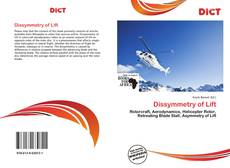 Bookcover of Dissymmetry of Lift