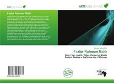Bookcover of Fazlur Rahman Malik