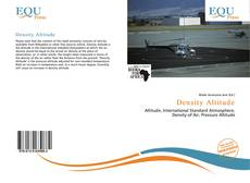 Bookcover of Density Altitude