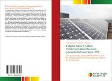 Estudo básico sobre dimensionamento para geração fotovoltaica (FV) kitap kapağı