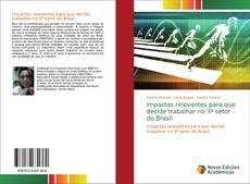 Capa do livro de Impactos relevantes para que decide trabalhar no 3º setor do Brasil