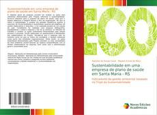 Buchcover von Sustentabilidade em uma empresa de plano de saúde em Santa Maria - RS