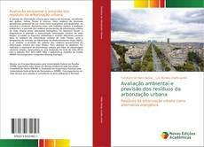 Capa do livro de Avaliação ambiental e previsão dos resíduos da arborização urbana