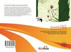 Grand Prix Moto d'Australie 2010 kitap kapağı