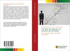 Capa do livro de Corretor de seguros: os desafios da atividade