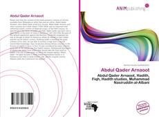 Bookcover of Abdul Qader Arnaoot
