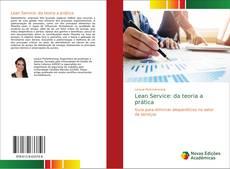 Bookcover of Lean Service: da teoria a prática