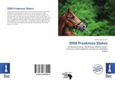 2008 Preakness Stakes kitap kapağı
