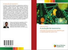 A evolução da taxonomia kitap kapağı