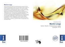 Martin Lings kitap kapağı