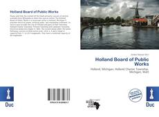Buchcover von Holland Board of Public Works