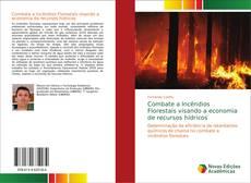 Capa do livro de Combate a Incêndios Florestais visando a economia de recursos hídricos