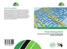 Capa do livro de Clean Energy Bank