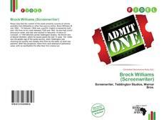 Brock Williams (Screenwriter)的封面