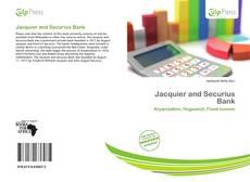 Jacquier and Securius Bank的封面