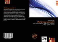 Bookcover of Menkheperreseneb II