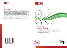 Buchcover von Ernst Ogris