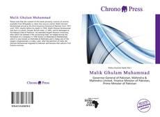 Malik Ghulam Muhammad kitap kapağı