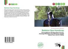 Bookcover of Ballston Spa Handicap