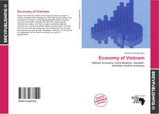 Bookcover of Economy of Vietnam