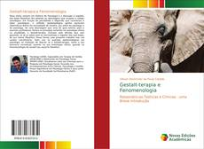 Bookcover of Gestalt-terapia e Fenomenologia